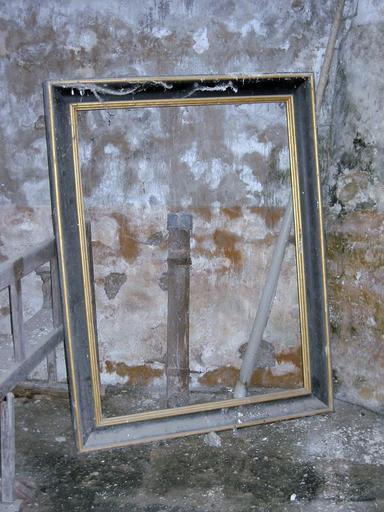 Tableau, cadre : Institution du Rosaire (tableau détruit)