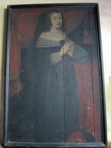 Panneau peint : Portrait d'Anne d'Autriche