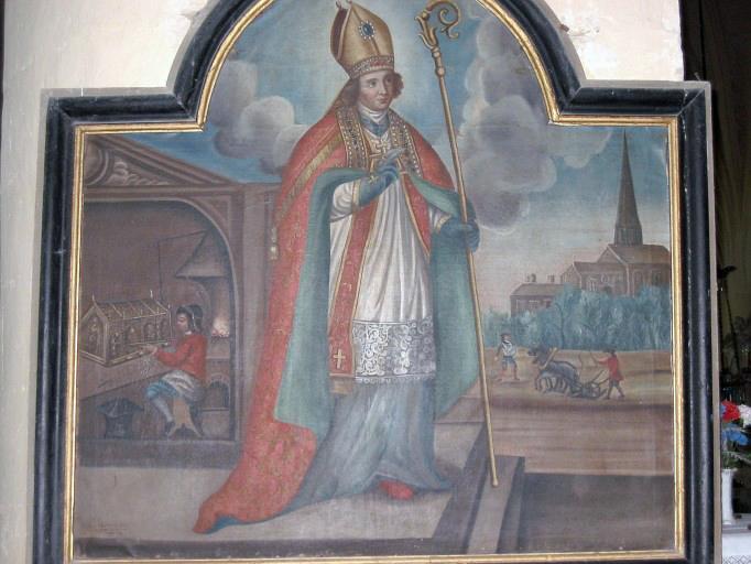 Tableau d'autel : Saint Éloi