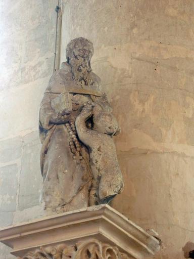 Statuette : Saint Aventin