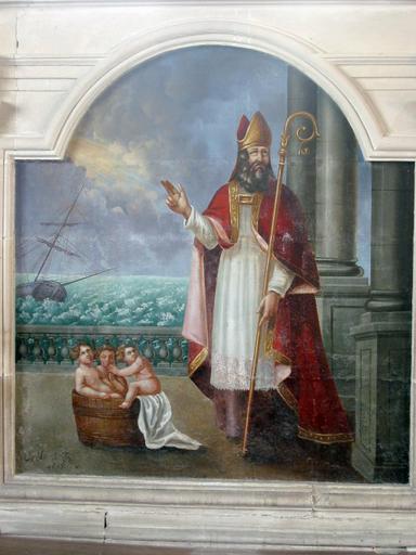 Peinture : Saint Nicolas