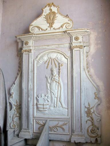 Bas-relief : Saint Nicolas