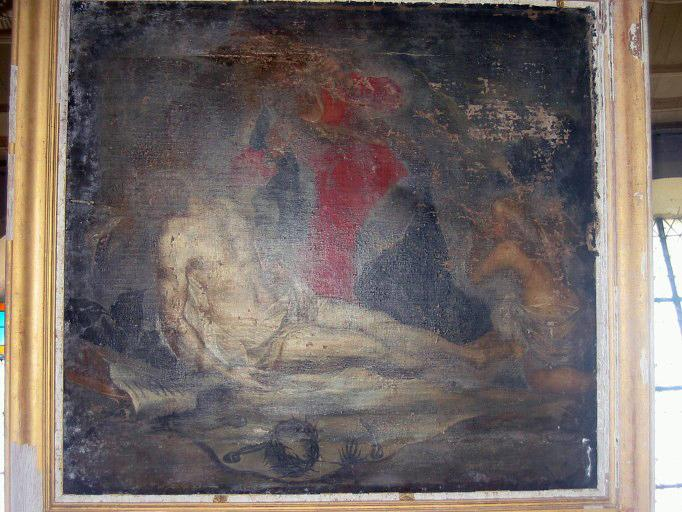 Tableau : Christ au tombeau