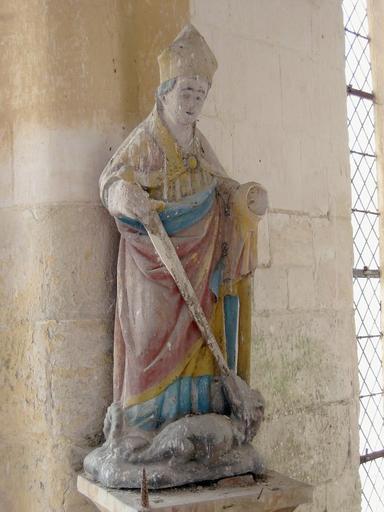 Statue : Saint Loup