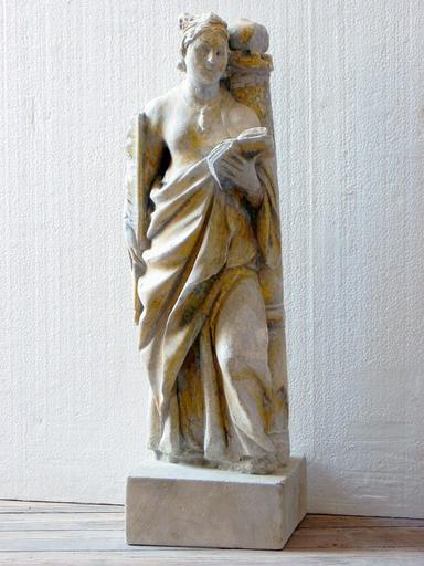 Statue : Sainte Barbe (déposée en mairie)