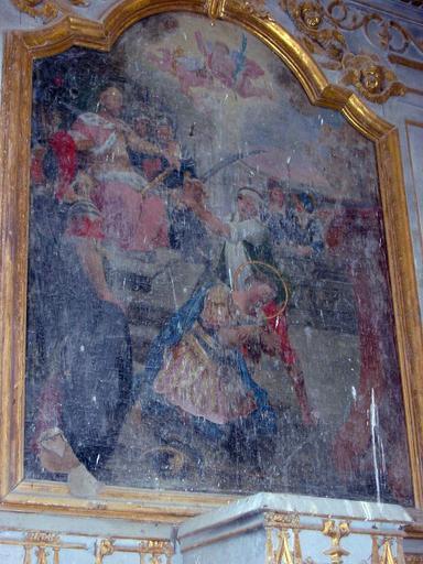 Tableau : Martyre de saint Julien
