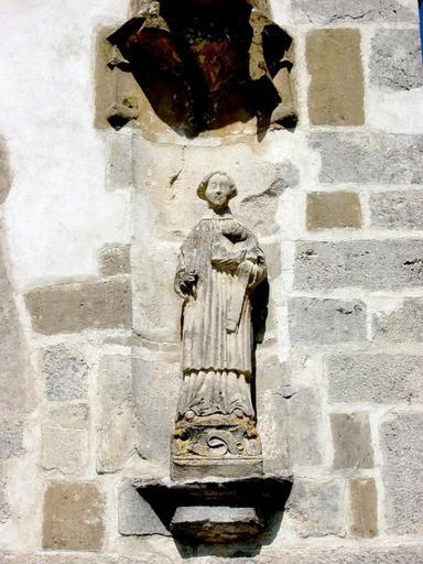 Statue : Saint Louvent