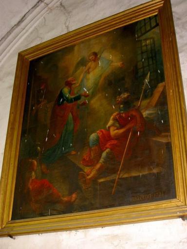 Tableau : Délivrance de saint Pierre par l'ange