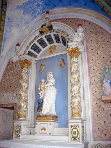 Retable de l'autel Saint-Nicolas