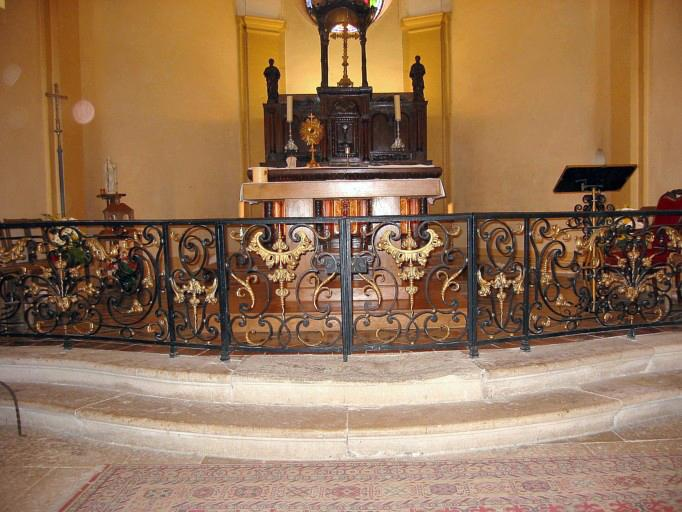 Clôture (table de communion)