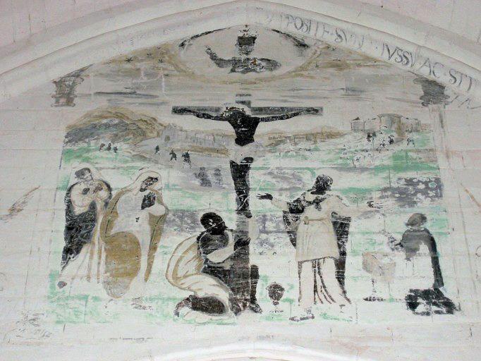 Peinture monumentale : Crucifixion