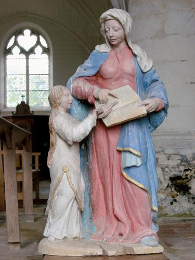 Statuette : Éducation de la Vierge