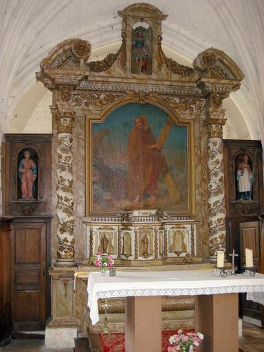Retable et tabernacle