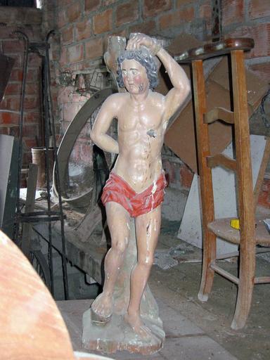 Statuette : Saint Sébastien