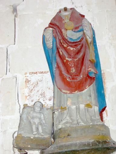 Statue : Saint Claude