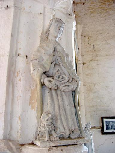 Statue : Saint Mammès