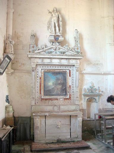 Autel, retable de la chapelle Saint-Roch