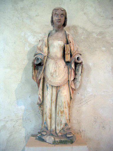 Statue : Sainte Élise dite visionnaire
