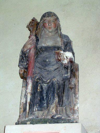 Statue : Abbesse