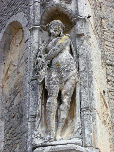 Statue : Christ à la colonne