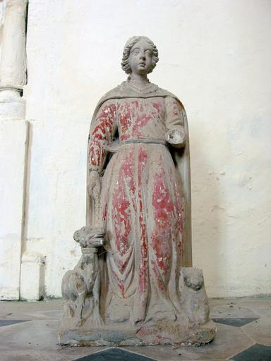 Statue : Sainte Geneviève