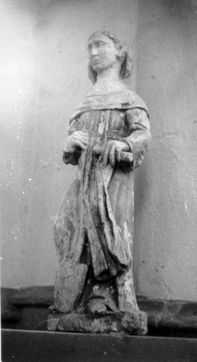 Statue : Saint Fiacre (volée)