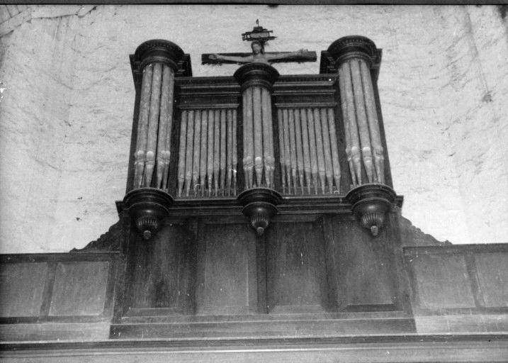 Orgue à cylindres : partie instrumentale de l'orgue