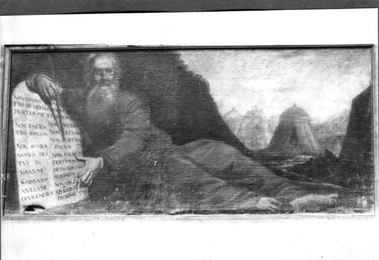 Tableau : Moïse et les Tables de la Loi (déposé au musée des Beaux-Arts de Troyes)