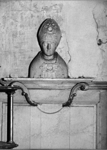 Buste-reliquaire : Saint Evêque (volé)