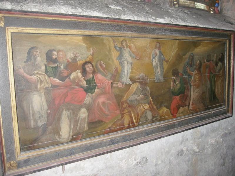 Panneau peint : Ascension