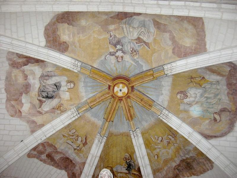 Peinture monumentale : les Évangélistes