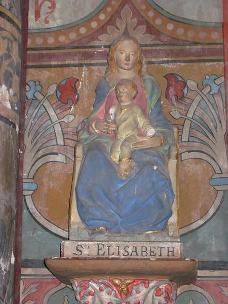 Statuette : Sainte Élisabeth