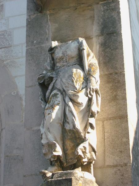 Statue : Sainte Syre