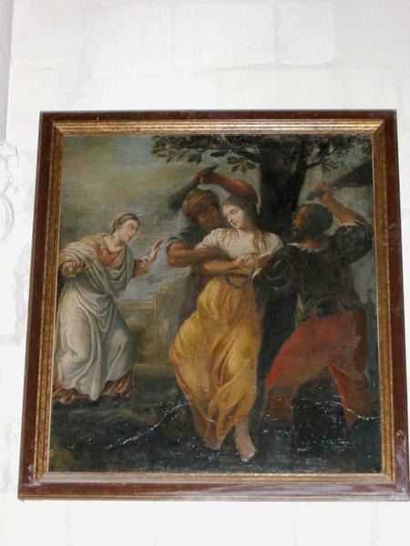 Tableau : Sainte martyre