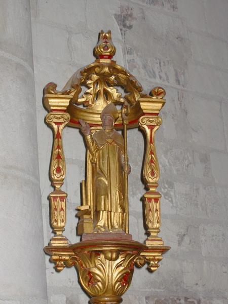 Bâton de procession de confrérie : Saint Éloi