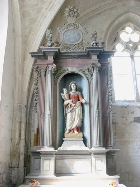 Retable de l'autel de la Vierge