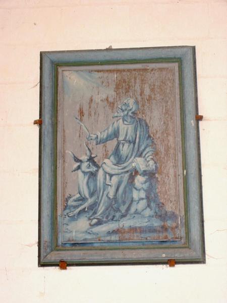 4 panneaux peints : les Évangélistes