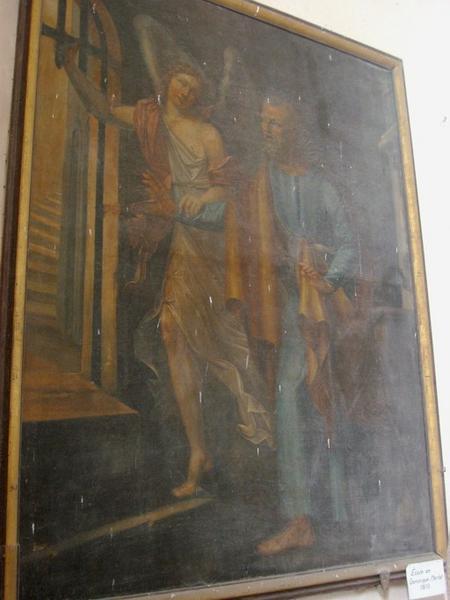 Tableau : Saint Pierre délivré par l'ange