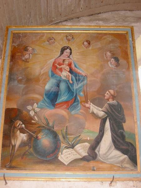 Tableau : Institution du Rosaire