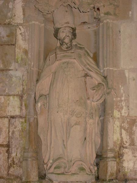 Statue, 2 bustes : Saint Thomas Becket, saint Jean, Marie-Madeleine