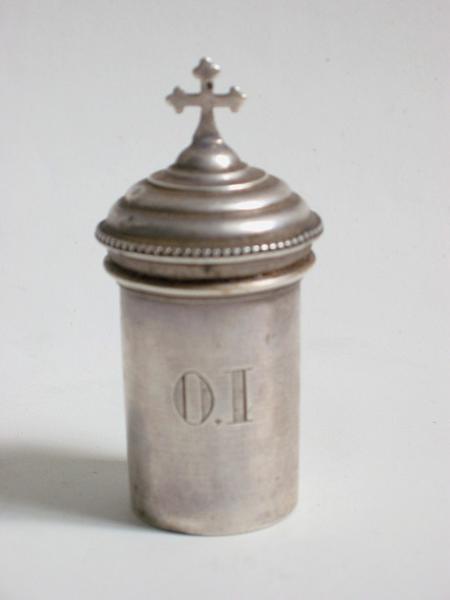 Ampoule aux saintes huiles