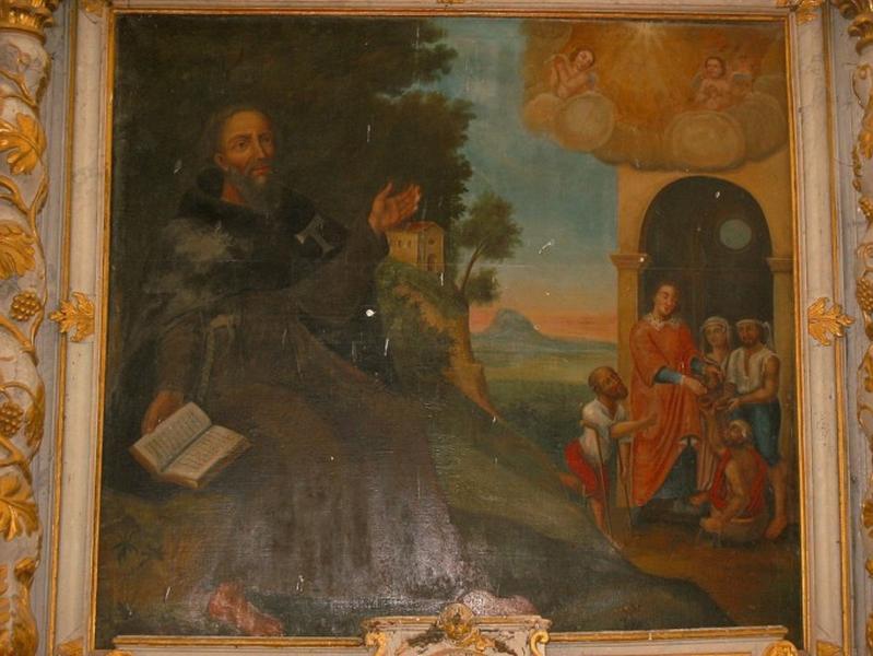 Tableau : Charité de saint Antoine