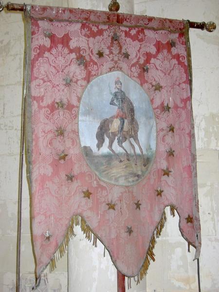 Bannière de procession : Saint Gengoulph