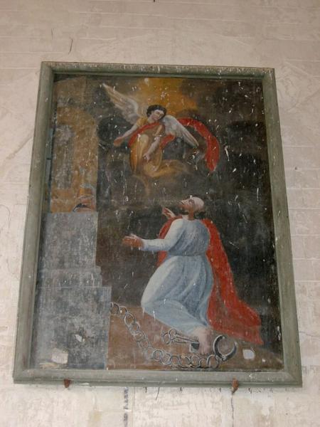 2 tableaux : Assomption, saint Pierre délivré par l'ange