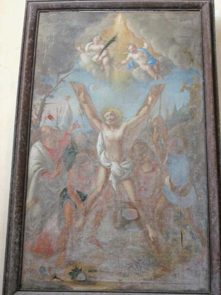 Tableau : Martyre de saint André