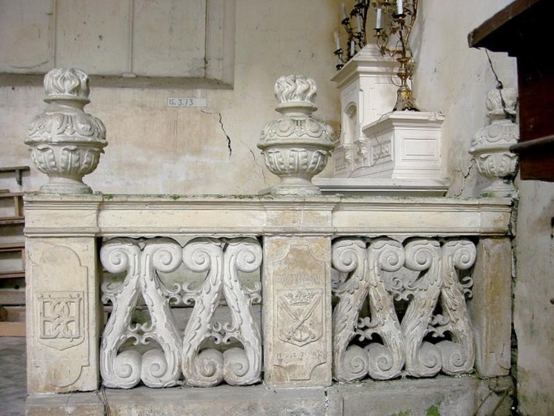 Clôture de la chapelle Saint-Nicolas