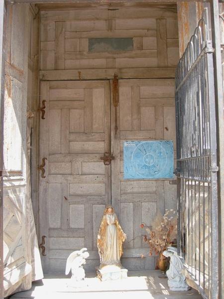 3 vantaux et tambour de porte