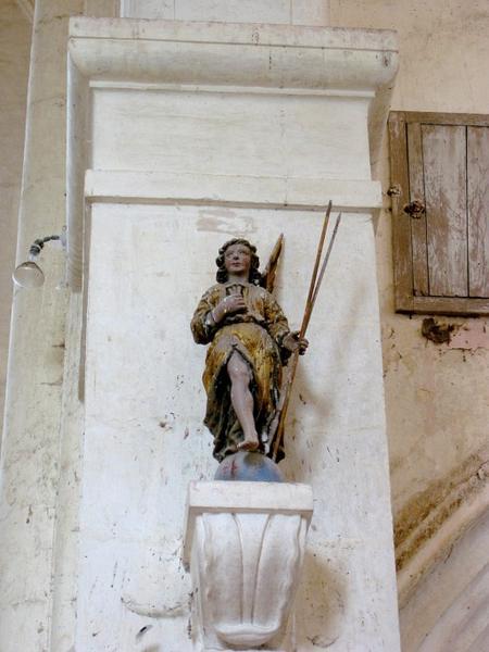 2 statues : Anges de la Passion