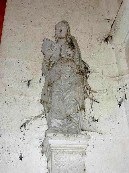 Statue : Sainte Julienne