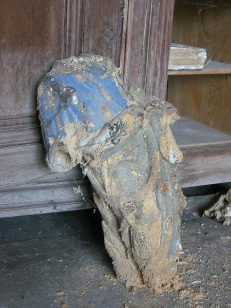 Statue : Saint Jacques le Majeur (?)